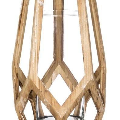 Wooden Geometric Vessels