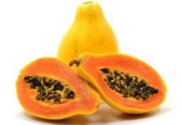 papaya ringiovanire la pelle