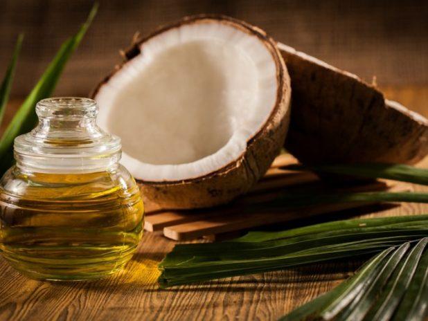 Coconut Oil for Grey Hair