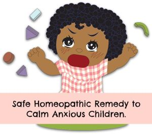 homeopathic remedy for anxiety in children