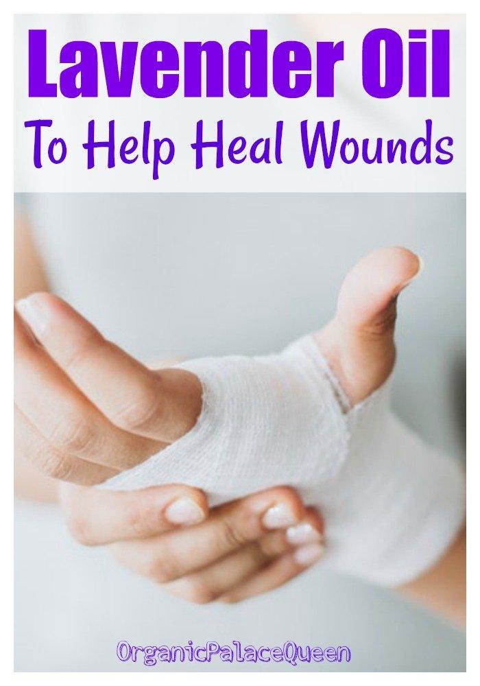 Lavender oil for bruises
