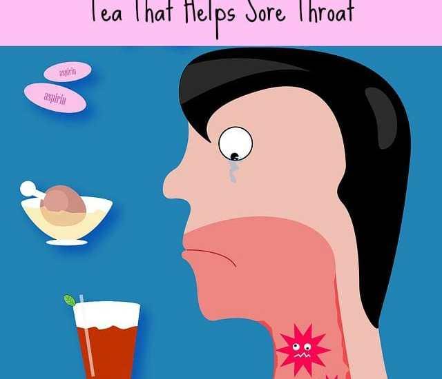 tea that helps sore throat