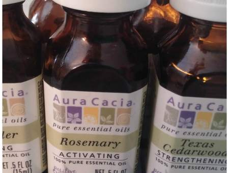 Aura Cacia essential oils review