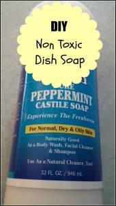 castile recipe dish soap