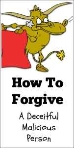 how to forgive someone and let go of anger