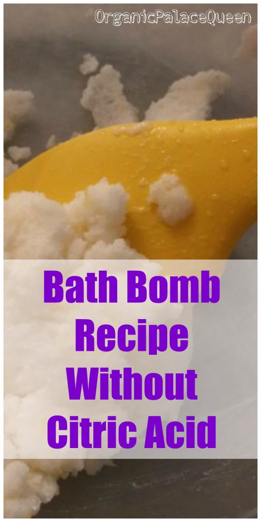 How to make your own bath bombs without citric acid