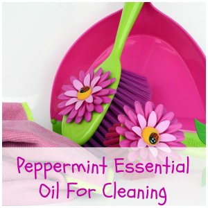 peppermint essential oil for cleaning