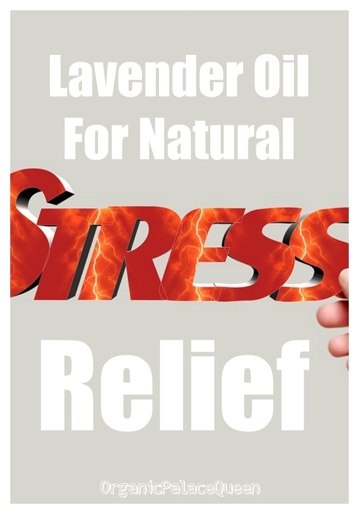 Lavender oil for stress relief