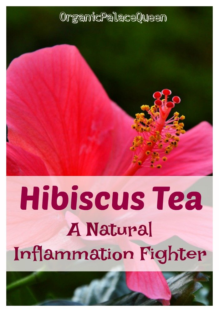 Hibiscus tea for inflammation