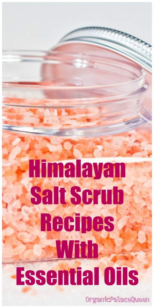 Himalayan salt scrub recipe with essential oils