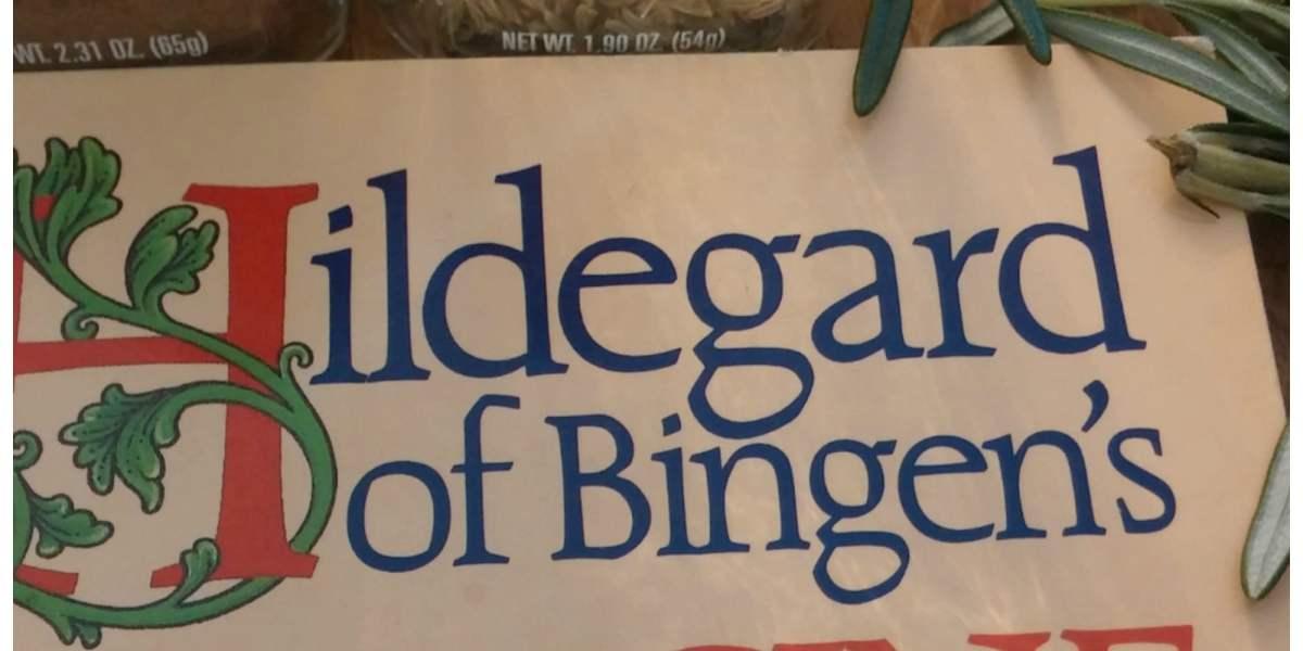 Saint Hildegard and Herbs