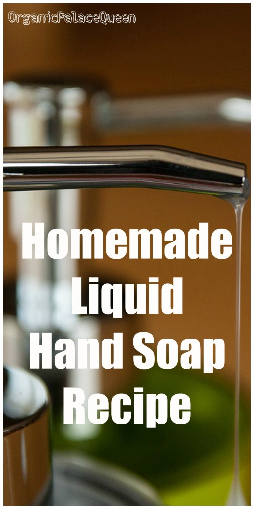DIY liquid hand soap recipe