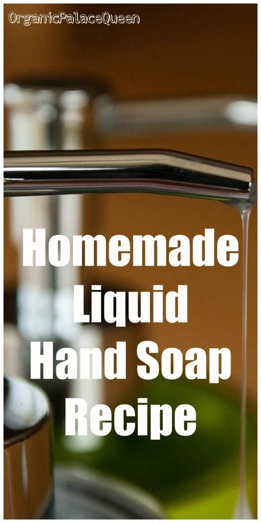 DIY liquid hand soap recipe