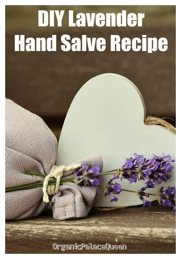 How to make lavender hand salve