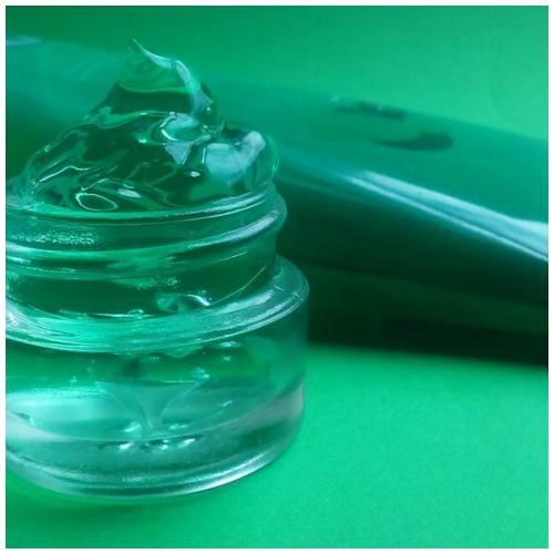 aloe vera gel and lavender essential oil