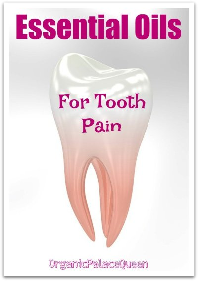 Essential oils for tooth pain