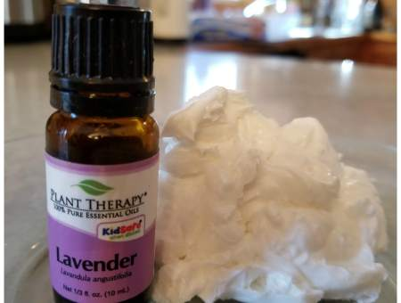 How to make lavender sleep cream