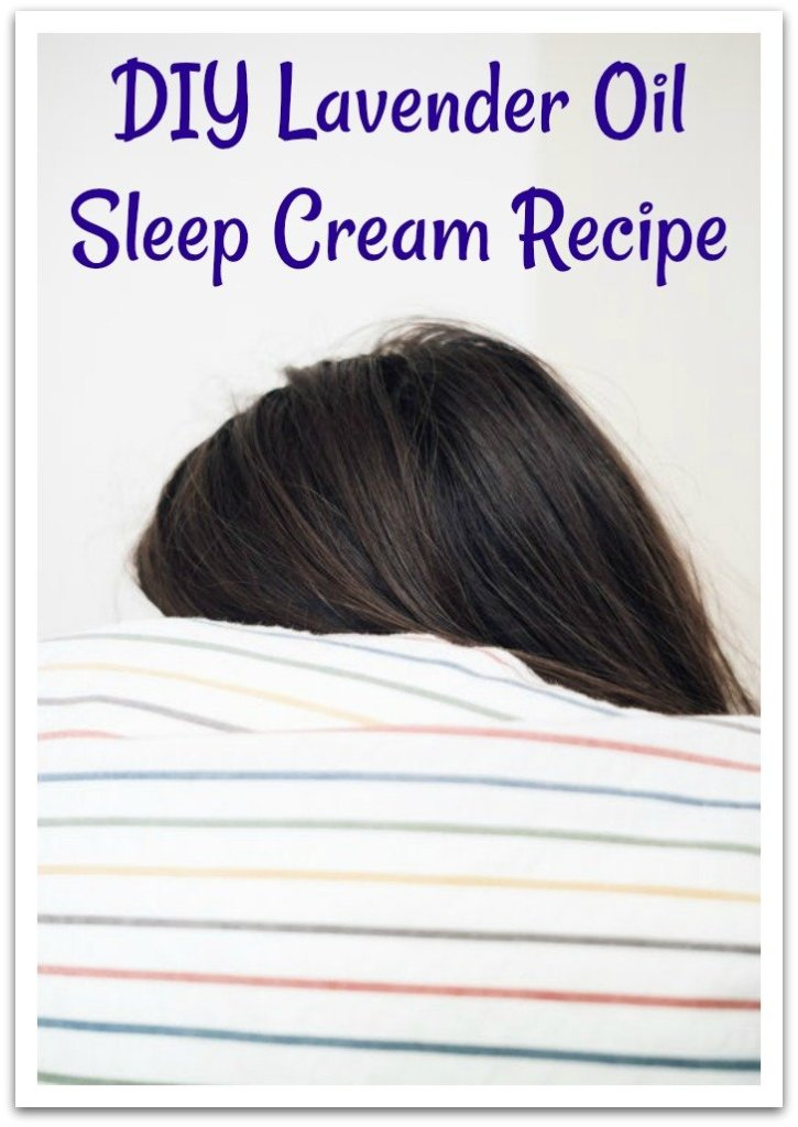 lavender sleep cream recipe