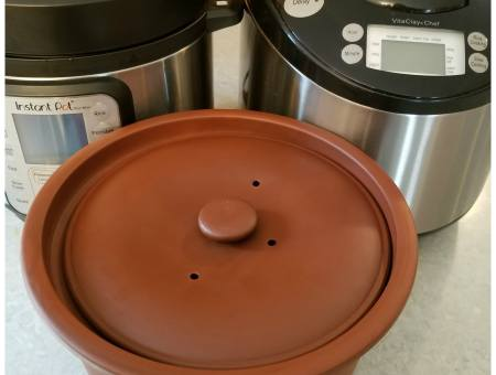 Using a clay cooker instead of an Instant Pot