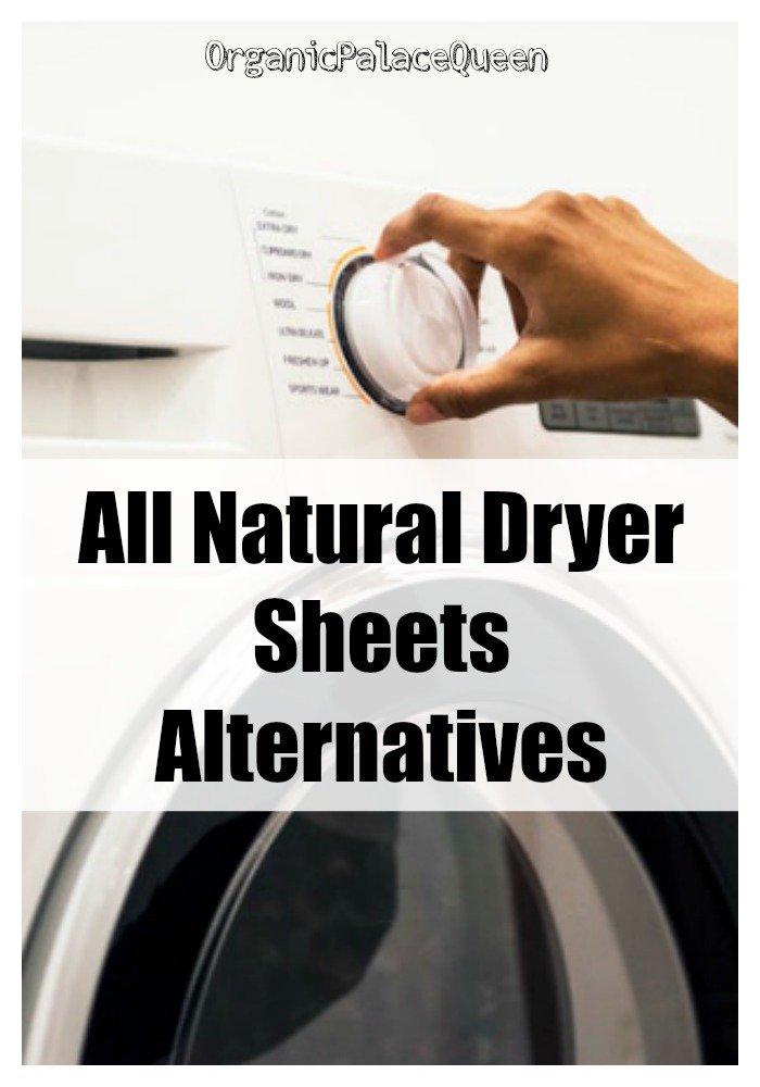 Safe natural dryer sheets alternatives