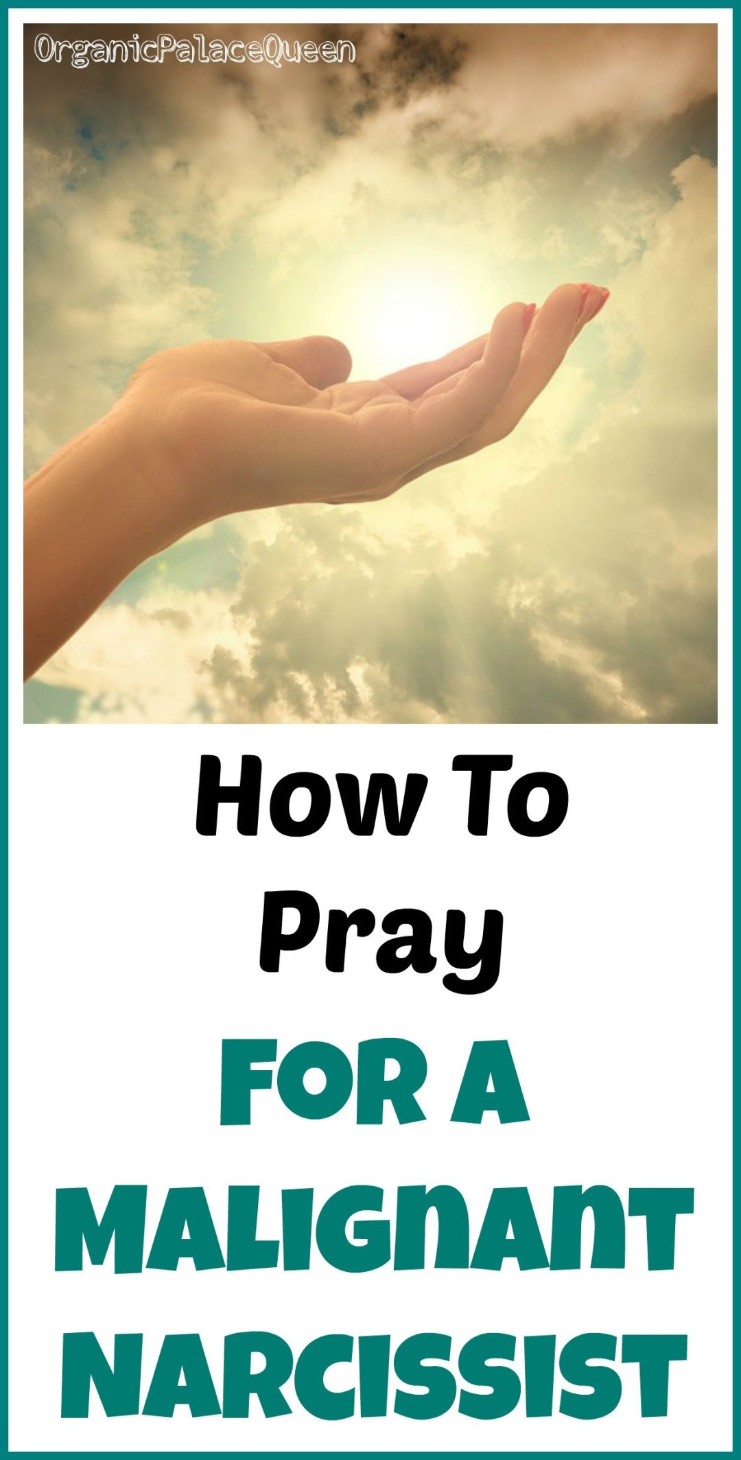 How to pray for a narcissist