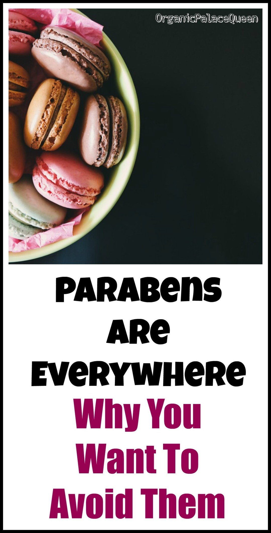 Why you want to avoid parabens