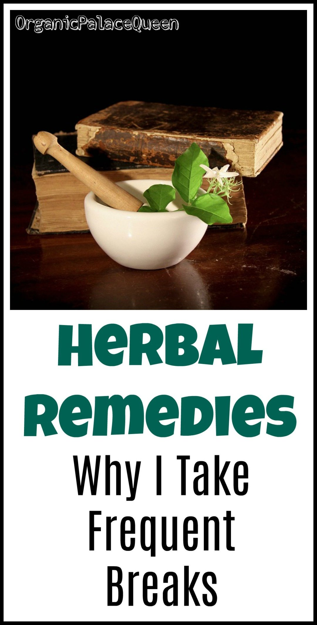 Should you take a break from herbal supplements