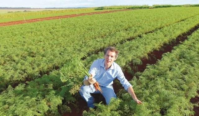 Roberto Lunardelli, da Fazenda da Mata: objetivo é se tornar um dos maiores produtores e exportadores do país. (Foto: Fábio Lima)