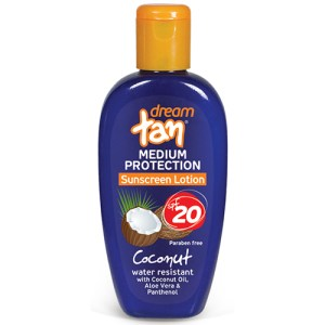 Sunscreen Lotion Coconut Medium Protection SPF 20' 150ml