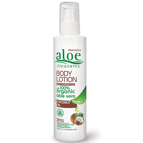 aloe body lotion coconut