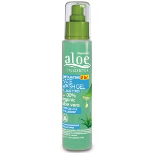 Exfoliating Face Wash Gel 2 in 1
