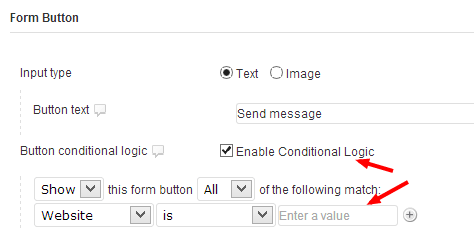Gravity Forms - adding conditional logic