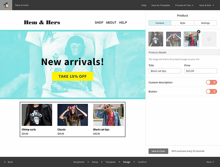 Learn how to improve your eCommerce related email marketing.