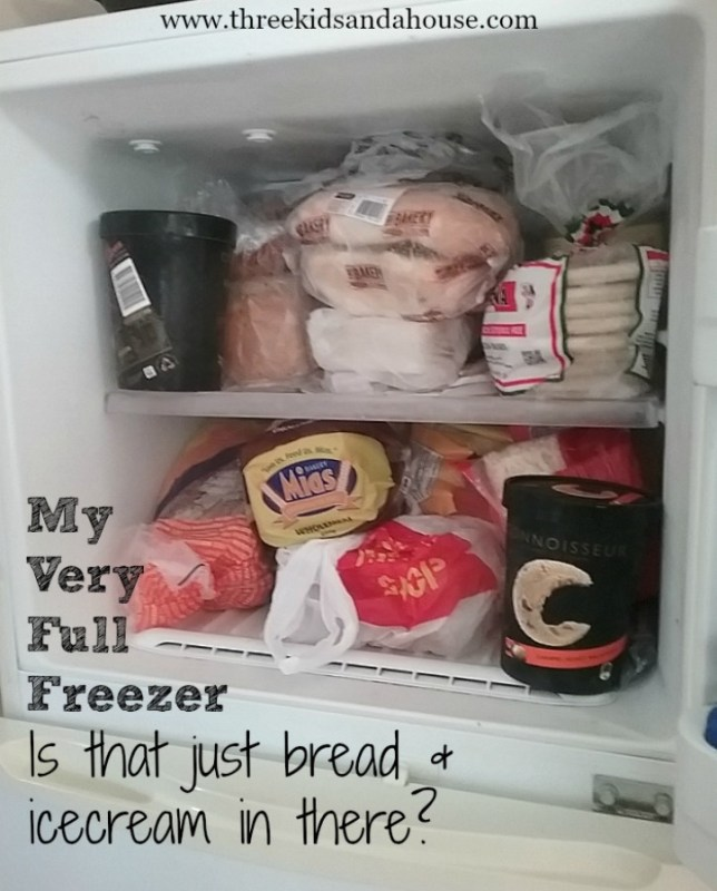 Have an organised freezer.