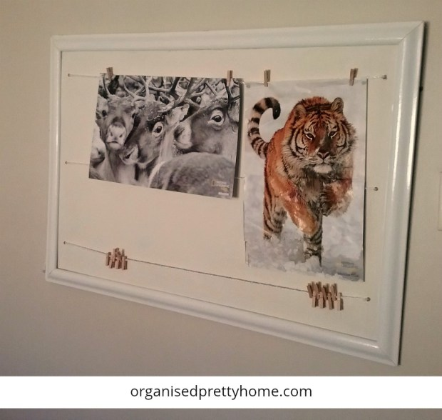 how to hang kids posters on painted walls without using poster putty
