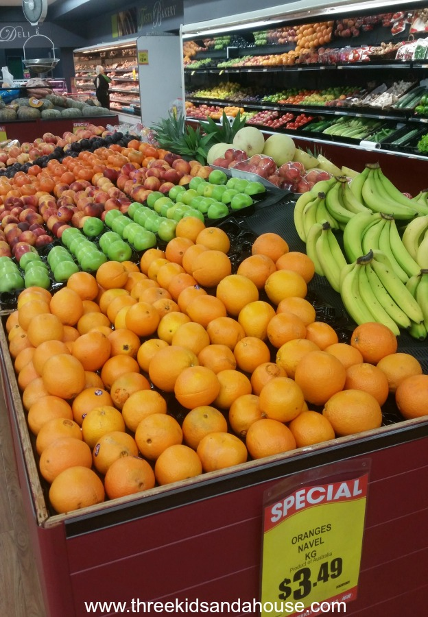 buying low cost fruit & vegetables on a centrelink payment