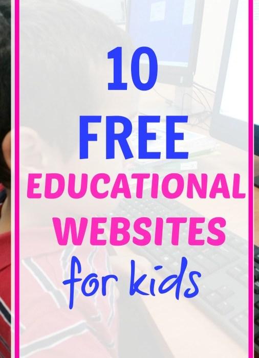 10 Free Educational Websites For Kids