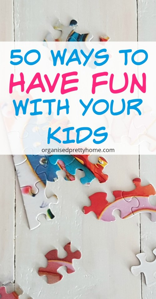 50 fun things to do with your kids. Check out these children activities that parents will enjoy too. Awesome summer vacation or holiday ideas for families. - Organised Pretty Home things to do | toddlers #organisedprettyhome #kidsactivities #family #familyfun #summer #thingstodo #jokebooks