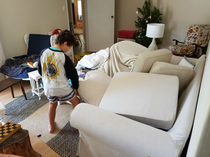 have less things in your home makes tidying quick and easy