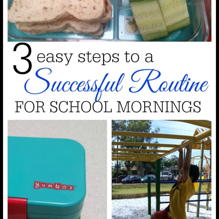 3 Easy Steps To Create A Morning Routine For School