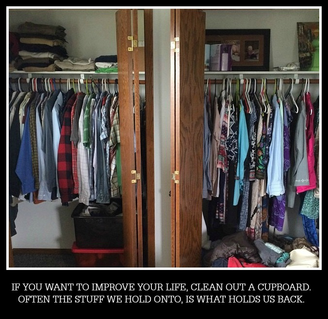get rid of stuff