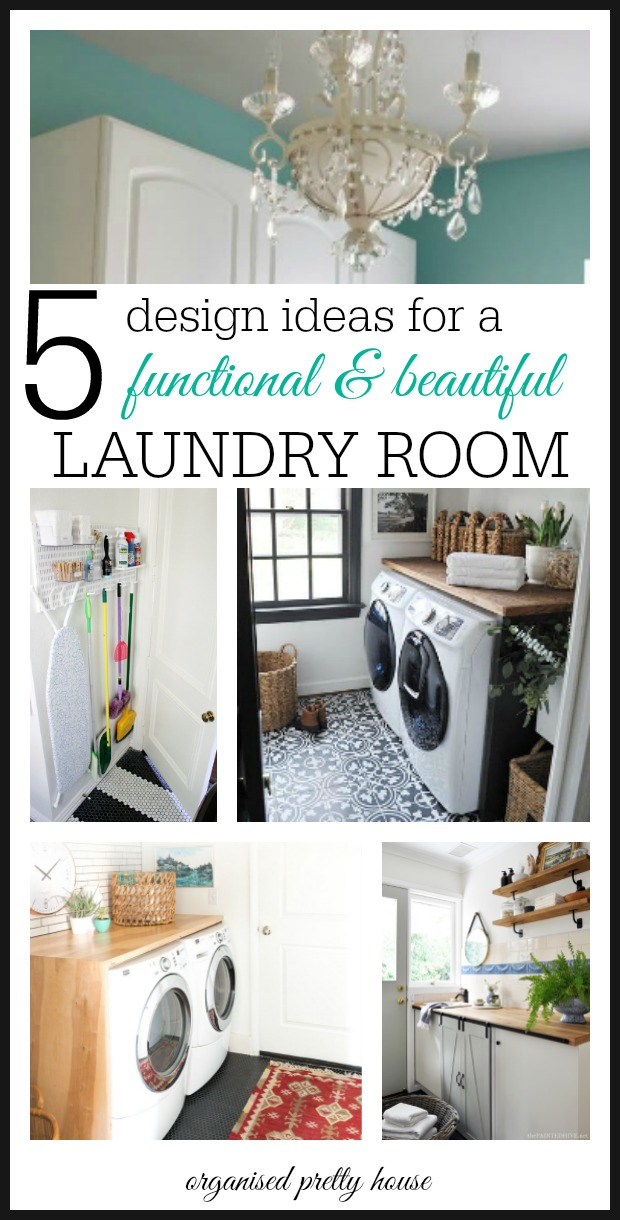 Design A Laundry Room Organised Pretty Home