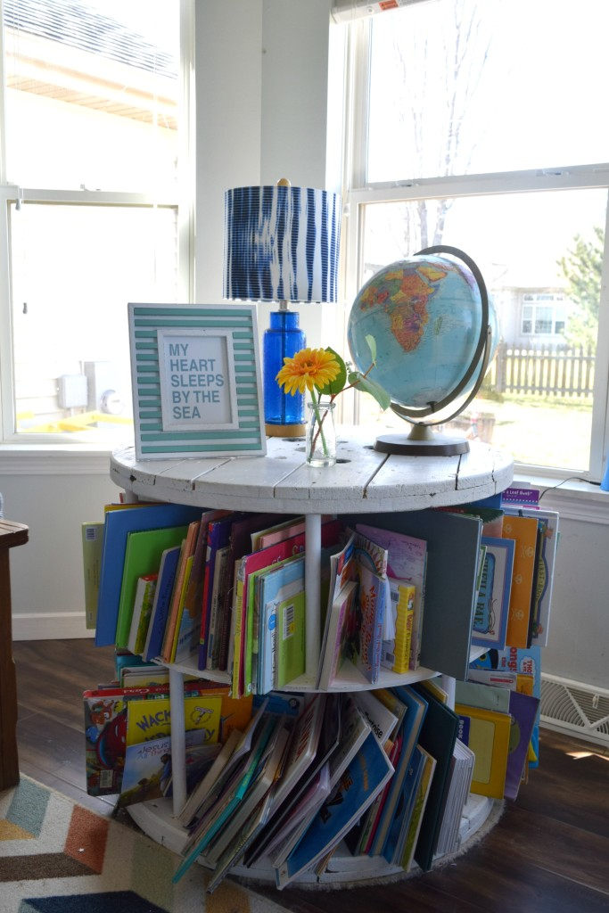 children's book storage ideas