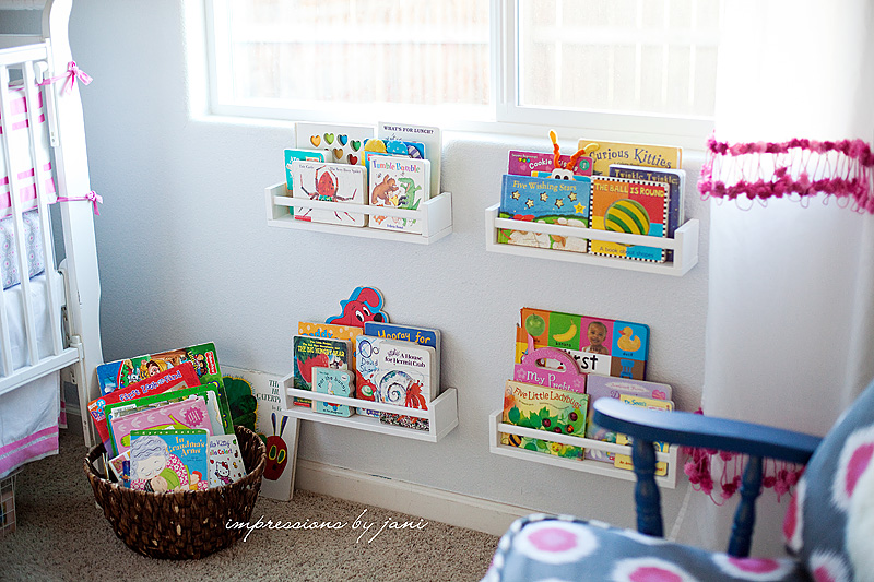 childrenu0027s book storage ideas in a Ikea spice rack hack & 15 Brilliant Kids Book Storage Ideas
