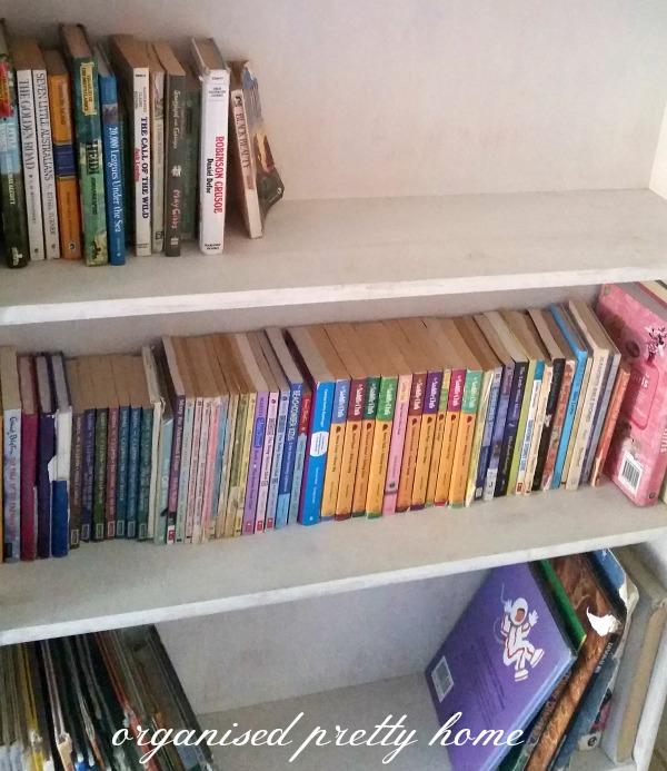 Magazine Holder Turned Book Storage & 15 Brilliant Kids Book Storage Ideas