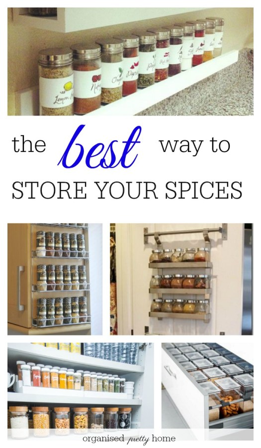 how to store your spices