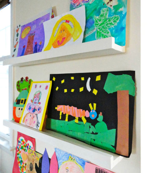 display kids artwork