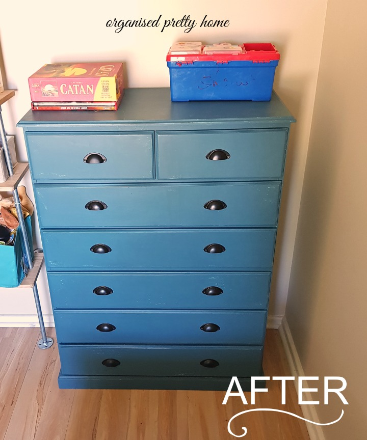 How To Easily Repaint A Chest Of Drawers Organised Pretty Home