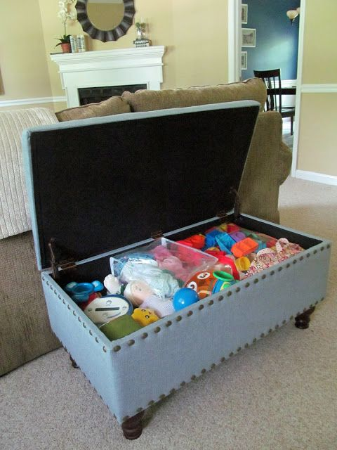 hide kidsu0027 toys in the living room & Living Room Toy Storage Ideas