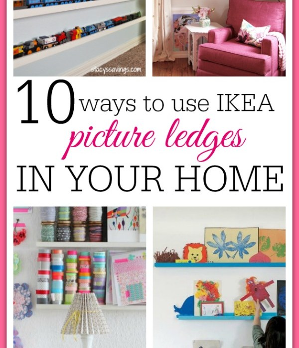 10 Brilliant Uses For Picture Ledges From IKEA